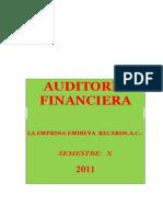 Caso de Auditoria Financiera