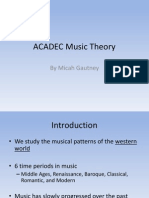 ACADEC Music Theory Ppt