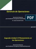Gerencia de Operaciones UNT Segunda Unidad