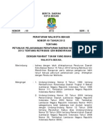 BD Perwal Nomor 49 Tahun 2012 Juklak IMB