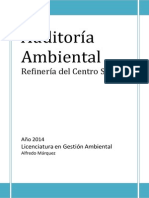 Auditoría Ambiental Final Terminada 2