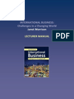 International Business Challenges in Changing World)