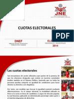 Cuotas Electorales y Cifra Repartidora