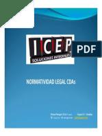 146201803 NORMATIVIDAD CDAs Modo de Compatibilidad