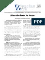 ExEx2039 Alternative Horse Feeds