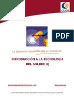 Unidad 01.- Introducci¢n a la Tecnolog¡a de Soldeo (I)
