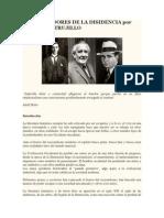 Tres Soñadores de La Disidencia Por Fernando Trujillo