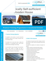 self-sufficient solar house training programme