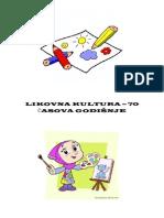 Godisnji Plan i Program Za IV Razred - Likovna Kultura
