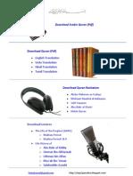 Download Quran PDF, Recitation & Translation