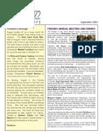 Friends of the Sierra Madre Newsletter September 2014