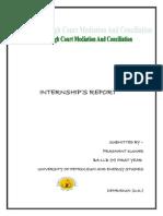 Report of Internship