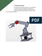Brazo Robotico de 4 Grados de Libertad