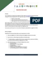 Registration Guide CAT 2014