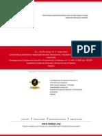 CARACTERÍSTICAS DEL DIRECTIVO RESPONSABLE DEL ÁREA INTERNACIONAL Y RESULTADO EXPORTADOR DE LAS EMPRESAS INDUSTRIALES