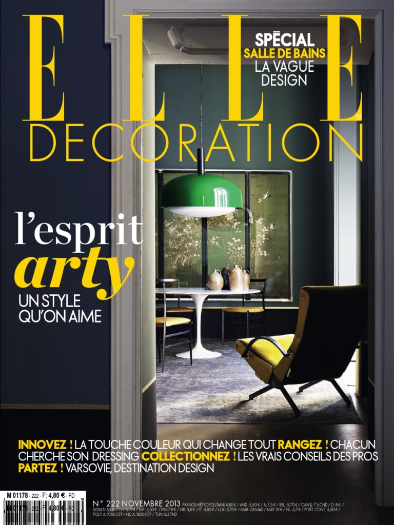 ELLE Decoration France 2013 c30141b942de