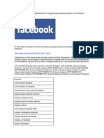 Como Hackear Facebook Octubre 2014 Programa Para Hackear Facebook
