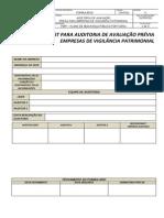 CHECK LIST PARA AUDITORIA DE AVALIAÇÃO PRÉVIA.docx