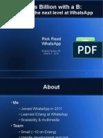 Efsf2014 Whatsapp Scaling