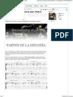 Método de Improvisación de Jazz - Parte II