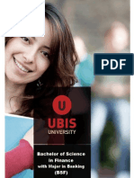 Bachelor of Science in Finance With Major in Banking 2012