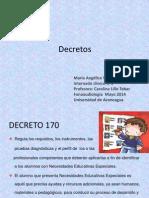 Pawer Decretos de Educacion Especial
