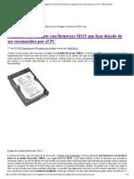 Solución a Los Seagate Con Firmware SD15 Que Han Dejado de Ser Reconocidos Por El PC - Blog Hard2bit