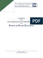 20090122 Cod Guvernanta Corporativa
