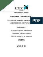 Informe 1 Lab. Mecánica de Fluidos