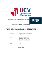 Plan de Desarrollo de Software