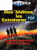 Guieu Jimmy - Nos Maîtres Les Extraterrestres