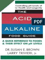 The Acid Alkaline Food