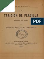 La Traición de Placilla. Reminiscencias de La Campaña. (1893)