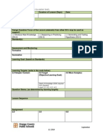 District Lesson Plan Template July 2013