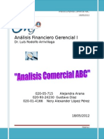 Analisis Comercial ABC