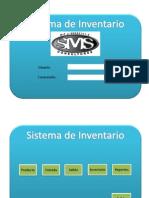 Diseño de Inventario