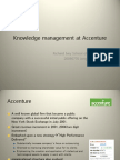 Knowledge Management at Accenture