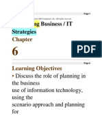 Developing Business _ IT Strategies Chapter