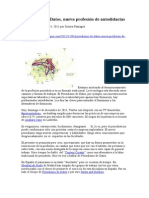 Paniagua, Soraya - Periodismo de Datos, Nueva Profesion de Autodidactas