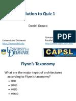 Quiz1 Solution