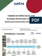 HIERRO DUCTIL