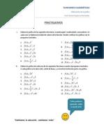Graficando funciones cuadraticas