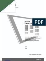 LG LCD TV Owners Manual