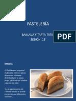 SESION 13 PASTELERIA