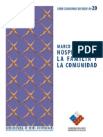 MINSAL - (2008) Marco Referencial. Hospitales Comunitarios