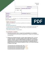 Estadísticas Ejercicio 2 Tecmilenio.