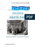Magnetismo Mesmer, Abate Faria