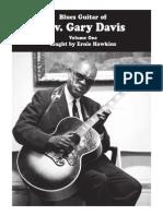 Blues Guitar of Rev Gary Davis Vol 1 PDF