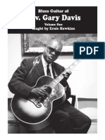Blues Guitar of Rev Gary Davis Vol 1 PDF