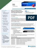 Sangoma Vega 400G Digital Gateway Datasheet